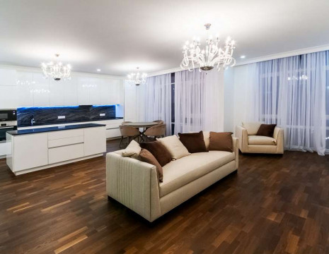 "Sale of the four-room apartment Residential Complex ""Boulevard of Fountains"". Kiev"