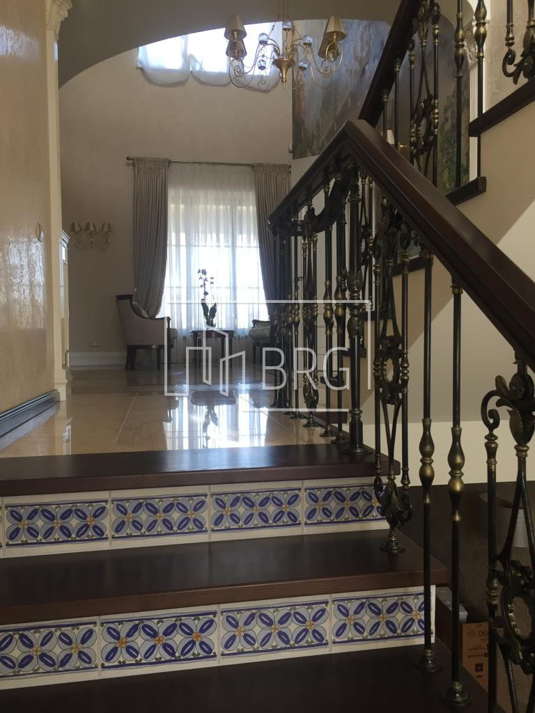 House 490m with access to the water in Plyuta. Kiev region
