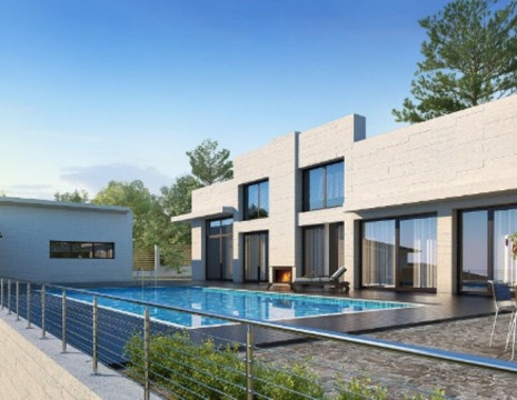 Modern house 300m with swimming pool in Ukrainka. Kiev region