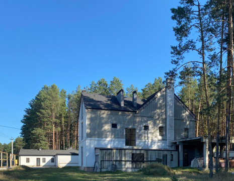 House in the pine forest Hodoseevka 420m for those who love solitude. Kiev region